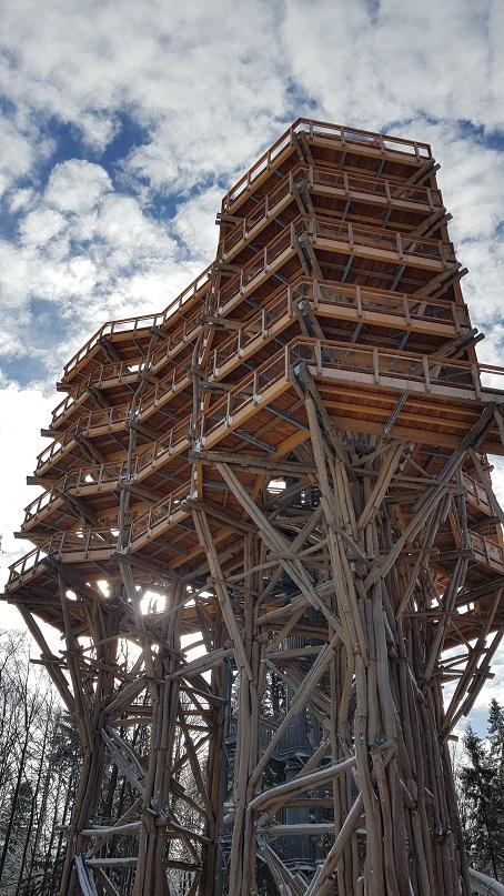 Krynica Górska, Wieża widokowa,