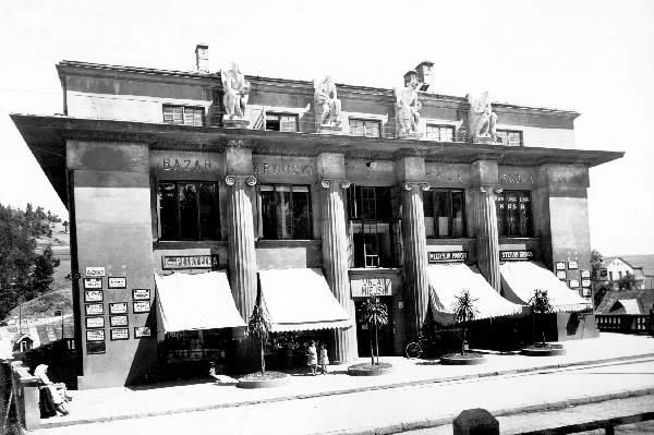 Krynica, bazar