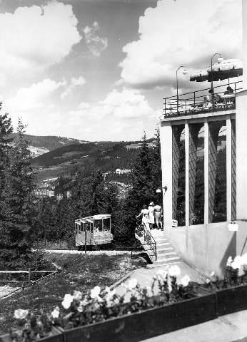 Krynica, Góra Parkowa, stare zdjęcie