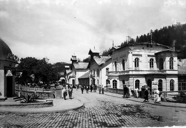 Krynica, Stare Łazienki, stare zdjęcie