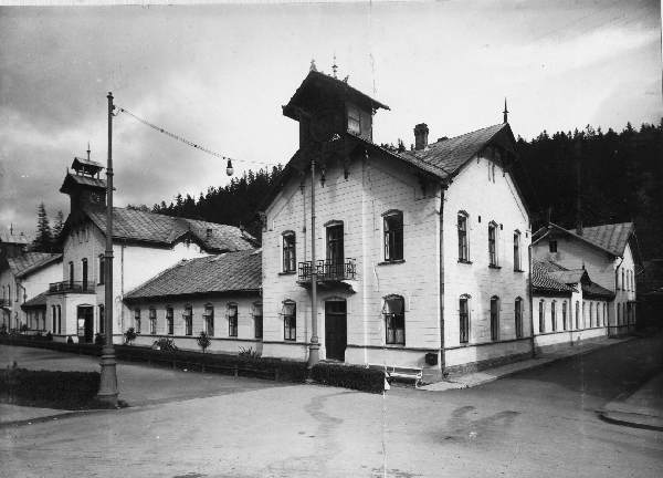 Krynica, Stare Łazienki, Deptak