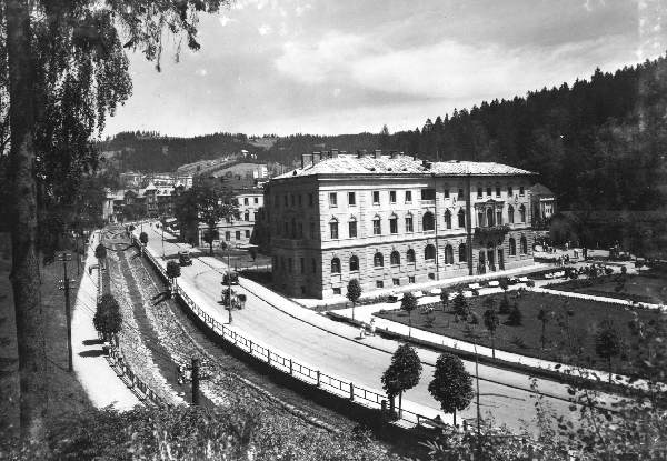 Krynica, Stary Dom Zdrojowy, stare zdjęcia