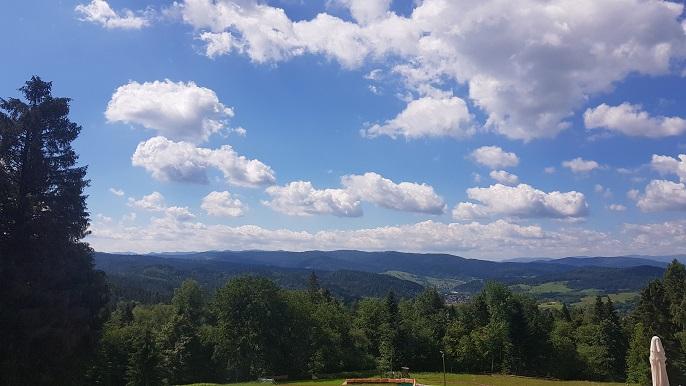Krynica Górska, Góra Parkowa, widoki